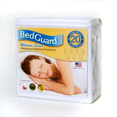 Latex Mattresses And Allergies Bed Guard Ultimate Hypoallergenic and Waterproof Mattress Protectors