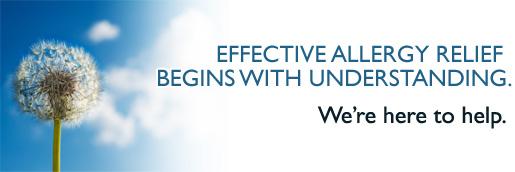 Effective allergy relief begins with understanding. We are here to help.