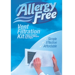 Allergy-Free® Vent Filtration Kit