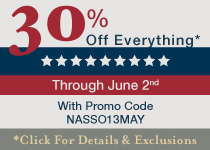 Spectacular Memorial Day Sale! 30% Off Everything* Through May 28th with Promo Code ACPSO13MAY - Click For Details & Exclusions