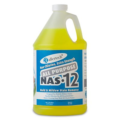 Nas 12 Allertech All Purpose Cleaning Solution Gallon Refill Household Cleaners Home Essentials Allergy Control Products