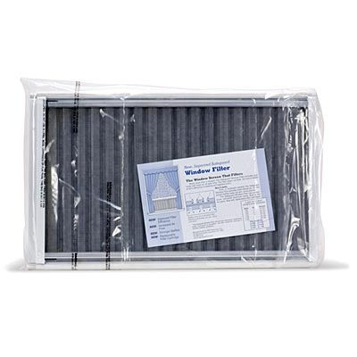 "Safeguard 20-36"" Adjustable Window Filter 11"" Tall"