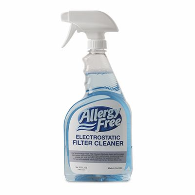 Allergy-Free Electrostatic Filter Cleaner