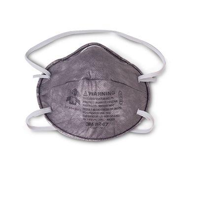 3M 8247PA1 R95 Carbon Mask