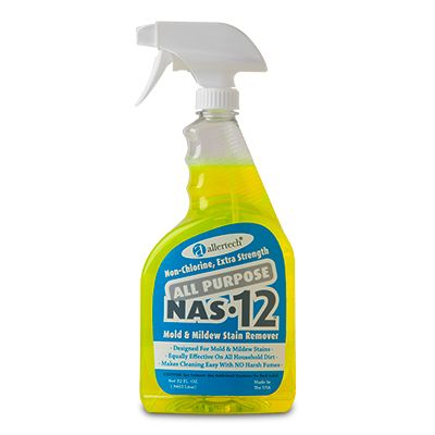 NAS-12 AllerTech® All Purpose Cleaning Solution Spray Bottle