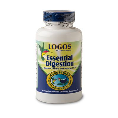 Logos Nutritionals Essential Digestion Enzyme Supplement