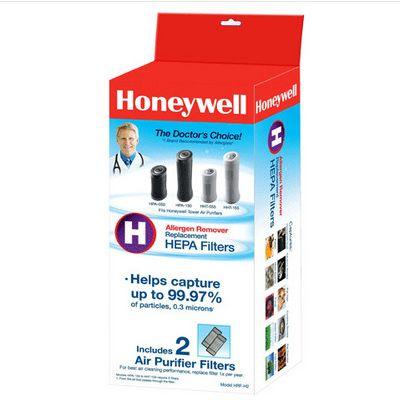 Genuine Honeywell True HEPA Filters HRF-H2 2-Pack
