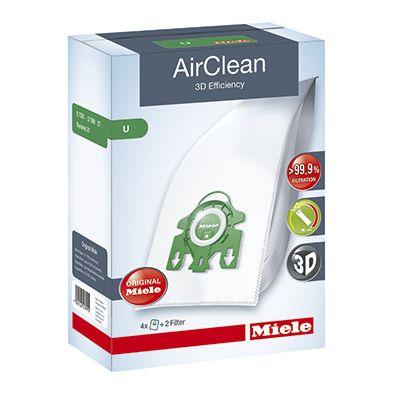 Miele AirClean U Bags - Box of 4