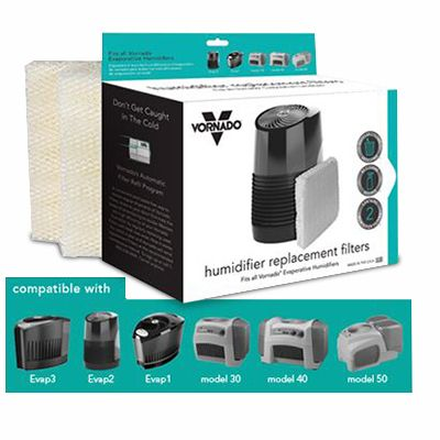 Vornado Universal Humidifier Wick Filters 2-Pack (MD1-0002)