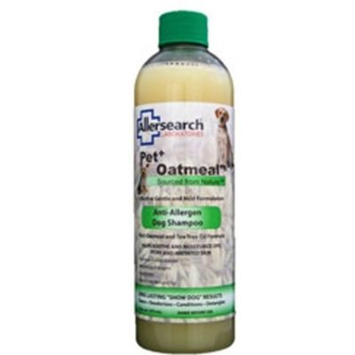 Allersearch Pet+ Oatmeal Anti-Allergen Dog Shampoo 16-oz Bottle