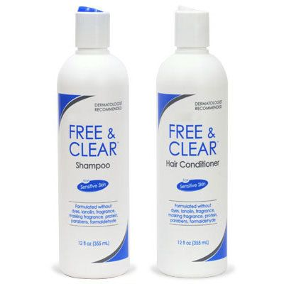 Free & Clear Shampoo and Conditioner Promo Pack
