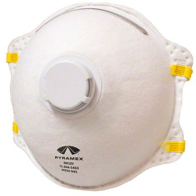 3m 9211 n95 particulate respirator mask with valve 10-pack