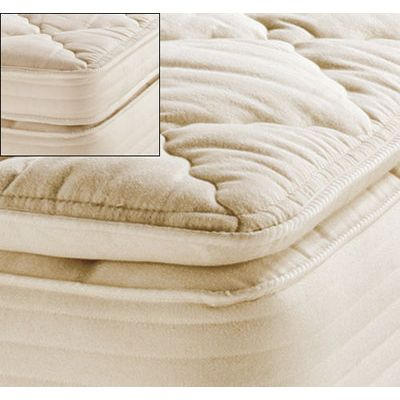 Royal-Pedic Natural Organic Cotton Pillowtop Mattress Pads