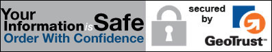 Top Notch Security Means Your Personal Information Is Safe With Us - Click for Details
